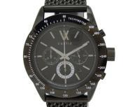VARTIX ヴァティックス・クロノグラフ VINGT-CINQANS KU01B メンズ 腕時計 自動巻 黒文字盤の買取