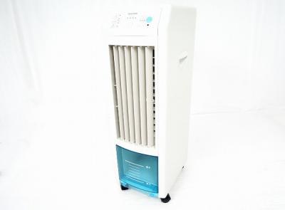 TEKNOS TCW-010 冷風扇 スリムタイプ リモコン冷風扇風機 テクノス 保冷剤パック付き