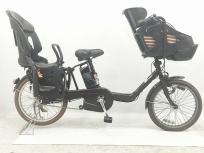 Panasonic パナソニック ギュット ミニ DX BE-ENMD036T ビターブラウン 電動アシスト自転車 3人乗り 対応 楽 大型の買取