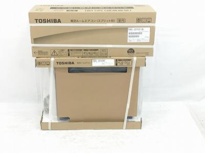 TOSHIBA RAS-2210T(W) RAS-2210AT エアコン 室内機 室外機 ルーム エアコン 東芝