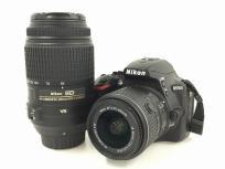 Nikon ニコン D5500 カメラ デジタル 一眼レフ ボディ デジイチ ブラックの買取