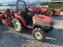 長野県 長野市 訳あり 三菱 MT241 ディーゼル 392時間 24馬力 トラクター 農業機械 農機具 農業 ロータリーの買取