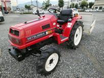 決算セール 愛知県発 三菱 トラクター MT20 4WD 875時間 ロータリー付き 倍速ターン 自動水平の買取