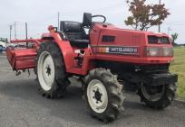 宮城県 加美郡 三菱 トラクター MT205 4WD 778H パワステ ディーゼル ロータリー付き P1523S 農機具 農業機械の買取