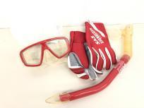 スキューバ ダイビング 用品 マスク スノーケル グローブ セット