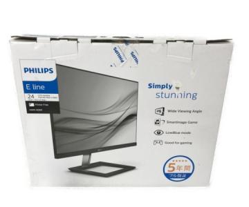 PHILIPS 241E1D/11 液晶モニター 2019年製 ディスプレイ PC周辺 映像 フィリップス
