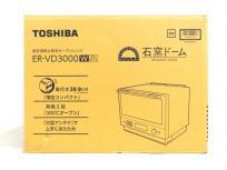 東芝 石窯ドーム ER-VD3000W 加熱水蒸気 オーブンレンジ TOSHIBA 家電