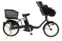引取限定Panasonic BE-ELMD034 V2 ギュット・ミニ DX 電動 自転車 チャイルドシート 3段変速の買取