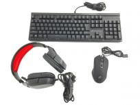 KEIAN GRAXIA GX-4IKMHP 青軸 キーボード マウス ヘッドセット ゲーミング