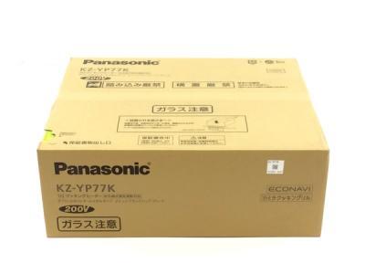 Panasonic KZ-YP77K IHクッキングヒーター ビルトインタイプ Yシリーズ ビルトインIHコンロ