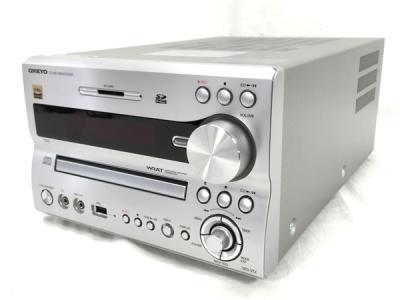 ONKYO NFR-9TX シルバー ハイレゾ対応 CD USB レシーバー 17年製