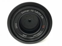 SONY Sonnar T* FE 55mm F1.8 ZA SEL55F18Z カメラレンズ