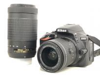 ニコン Nikon D5600 ダブルズームキット 18-55mm 70-300mm 一眼レフ カメラ