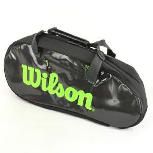 Wilson テニスバッグ SUPER TOUR 3 COMP Charco テニス ラケット 15本 収納 ウィルソン