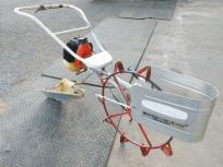 鳥取県 鳥取市 共立 溝切り機 MKS-331 ガソリン ステンレス板 水田 田んぼ 農機具