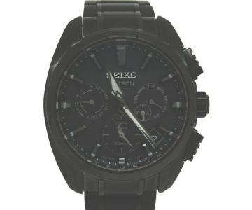 SEIKO セイコー ASTRON アストロン SBXC069 5X53-0AV0 ソーラー メンズ 腕時計 ブラック チタン
