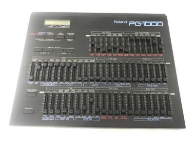 Roland PG-1000 シンセサイザー プログラマー 箱あり 楽器 DTM・レコーディング・PA機器 デジタルレコーディングツール DTM
