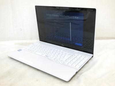 FUJITSU FMVWC2A35W Windows 10 i5-8250U CPU @ 1.60GHz 8 GB HDD 500 GB 15.6型 ノートパソコン PC