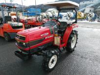 鳥取県 鳥取市 三菱 MITSUBISHI MT225 872時間 22馬力 4WD 4駆 ロータリー無 乗用 トラクター キャノピー 屋根の買取