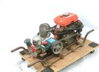 宮城県 仙台市 kubota SD313 エンジン式 噴霧器 4.3馬力 ホース付 農機具