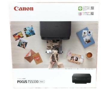 Canon PIXUS TS5330 インクジェット プリンター 複合機 ブラック ピクサス キャノン 家電
