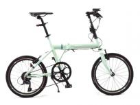ブリヂストン CYLVA F8F YF8F20 20型 折りたたみ 自転車 付属バッグ付きの買取