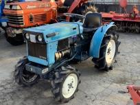 宮城県 加美郡 三菱 D1300FD トラクター 4WD 13馬力 ディーゼル エンジン始動OK 農機具 農業機械 直の買取
