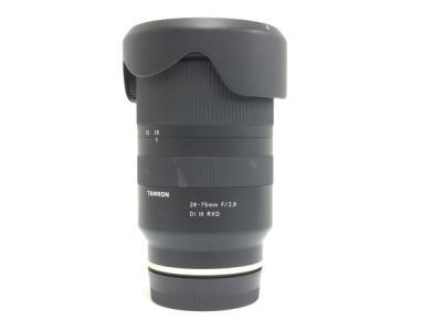 TAMRON 28-75mm F/2.8 Di III RXD レンズ ソニーEマウント