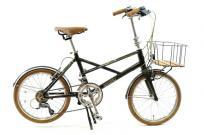 BRUNO ブルーノ Ventura Black Edition 2018年モデル スタンド付き ミニベロ 自転車 小径車大型の買取