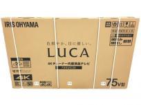 IRIS OHYAMA アイリスオーヤマ 75XUC35 4Kチューナー内蔵 液晶テレビ 75v型 家電