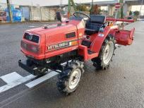 長野県 長野市 MITSHUBISHI 三菱 MT16 トラクター 自動水平 4WD 835h ディーゼル 16馬力 輸出 農機具の買取