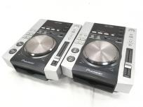 Pioneer パイオニア CDJ-200 DJ機器 ターンテーブル CD用 2台セット 2006年製 音響