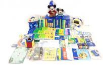 ワールドファミリー DWE ディズニー英語システム 2016年頃購入品 MTDSGAQL DVD CD 本 一部欠品あり 英会話 英語 教材