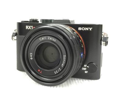 SONY ソニー Cyber-shot サイバーショット RX1R DSC-RX1R デジタルカメラ コンデジ ブラック