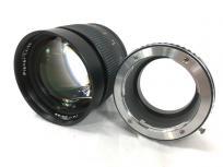 CONTAX Planar 85mm 1.4 レンズ マウントアダプター付の買取
