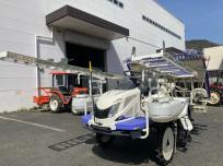 鳥取県 鳥取市 三菱 6条植 田植機 ASUMA LE60D 200h まくらっこ ロータリー式 HST ディーゼルの買取