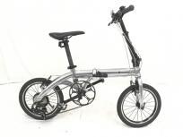 RENAULT ルノー PLATINUM LIGHT 8 プラチナライト8 シルバー 16インチ 自転車の買取