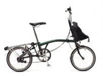 BROMPTON ブロンプトン M2R 折りたたみ 自転車 ミニベロ グリーンの買取