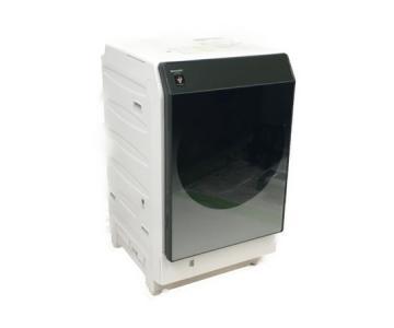 シャープ SHARP ES-W112-SL ドラム式 洗濯乾燥機 洗濯11.0kg 乾燥6.0kg ヒートポンプ乾燥 左開き 大型