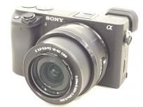 SONY ILCE-6400 カメラ ダブルレンズキット デジタル 一眼 ミラーレス Eマウント レンズ ボディ ブラック ソニーの買取