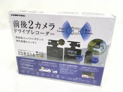 COMTEC コムテック ZDR016 前後カメラ 200万画素 FullHD GPS搭載 ドライブレコーダー カー用品