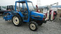 宮崎県 日南市発 イセキ TU197F トラクター 19馬力 ロータリー付 RNA140 区分UD パワステ 約267h 農業 農機具の買取