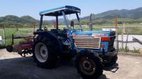 佐賀県 神埼市 イセキ トラクター TL3201 4WD ディーゼル 4273h キャノピー ロータリー農機具 輸出の買取