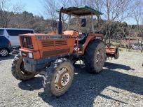 青森県 八戸市 KUBOTA クボタ トラクター M6970DTK M6970 69.5馬力 ニプロ LX2205 パワステ 自動水平 農機具の買取