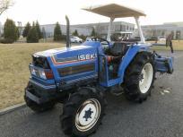 宮城県 加美郡 イセキ TA325F トラクター 32馬力 倍速ターン 4WD 2639h 屋根付き エンジン始動可 ロータリー 農機具の買取