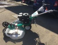 長野県 東御市 オーレック ウイングモア WM757P 自走二面畦 草刈り機 2WD フリーナイフ 7馬力 エンジン始動OK 農機具