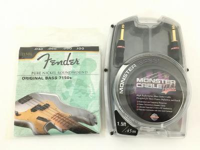 Monster cable bass PROLINK 1.5FT FENDER ORIGINAL BASS 7150S セット