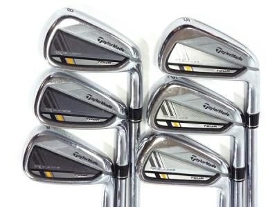 TAYLORMADE TOUR BLADEZ KBS TOUR S 5.6.7.8.9.P 6本セット ゴルフ クラブ