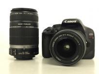 Canon キャノン EOS Kiss X4 KISSX4-WKIT ダブルズームキット カメラ デジタル一眼 ブラック