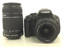 Canon キャノン EOS kiss X5 55-250mm 18-55mm 一眼レフ カメラ ダブルズームキット キャノン 訳ありの買取